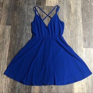 Charlotte Russe strappy skater dress